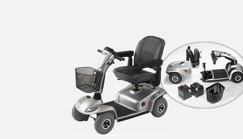 Nuestros modelos de scooters